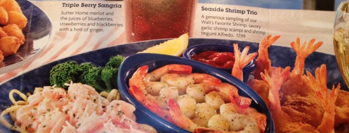 Red Lobster is one of Locais curtidos por Christopher.