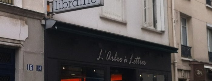 L'Arbre à Lettres is one of Libraries and Bookshops.