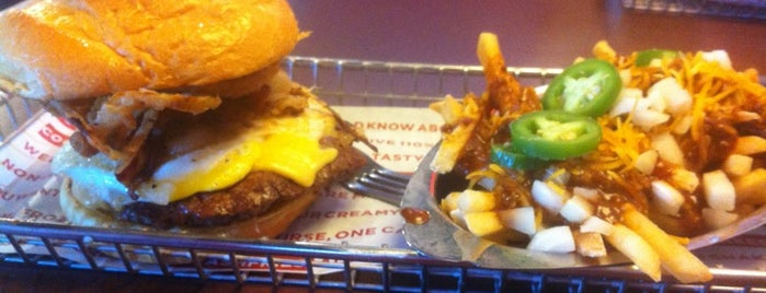 Smashburger is one of Burgers Vegas.
