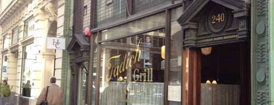 Tadich Grill is one of Top 100 Bay Area Bars (According to the SF Chron).