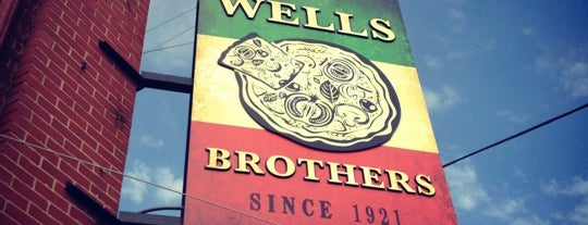 Wells Brothers Italian Restaurant is one of robin 님이 저장한 장소.
