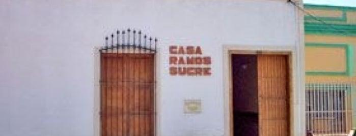 Casa Natal de José Antonio Ramos Sucre is one of Sitios Históricos y Culturales de Cumaná.