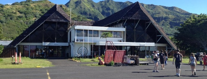 Moorea Airport (MOZ) is one of Airports.