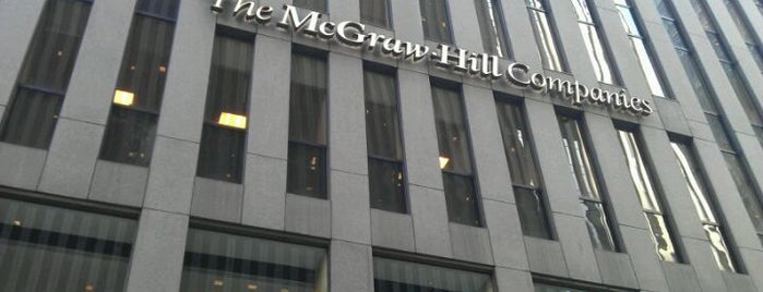 The McGraw-Hill Companies is one of New York III.