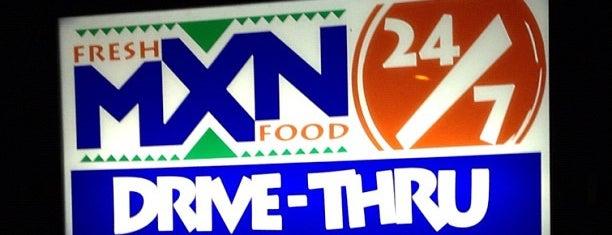 Fresh MXN Food (San Marcos) is one of Kimberly 님이 좋아한 장소.
