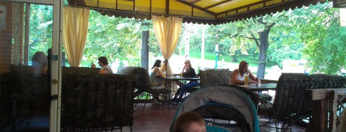 La Veranda is one of PW for Free Wi-Fi in Rivne.
