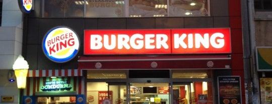 Burger King is one of Anıl : понравившиеся места.