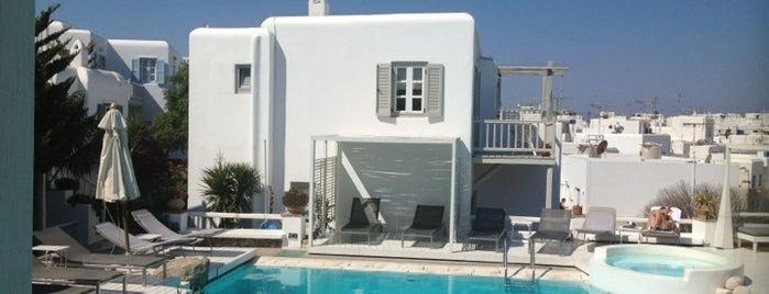 Semeli Hotel is one of Mykonos.