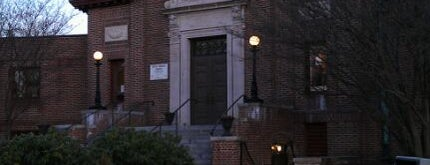 Stevens Memorial Library is one of Aaron's Saved Places.