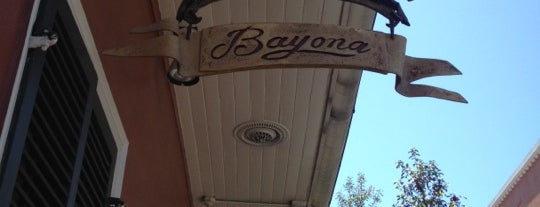 Bayona is one of New Orleans To-Do List.
