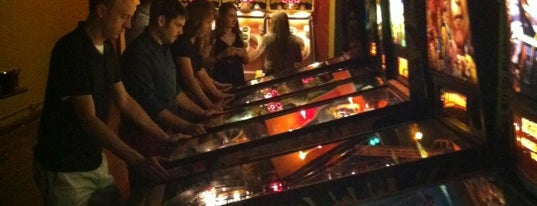 Orbit Pinball Lounge is one of Video Game & Gamer Bars.