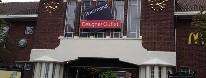 Designer Outlet Roermond is one of Volker : понравившиеся места.