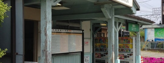 Hayakawa Station is one of JR 미나미간토지방역 (JR 南関東地方の駅).