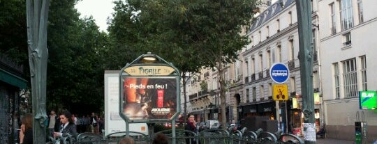 Place Pigalle is one of Euro List.