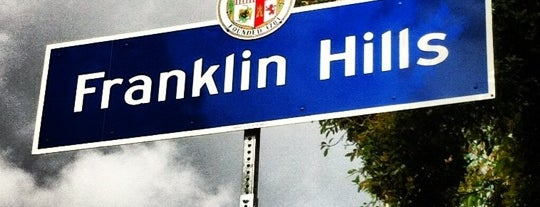 Franklin Hills is one of Los Feliz / Silver Lake - My Spots.