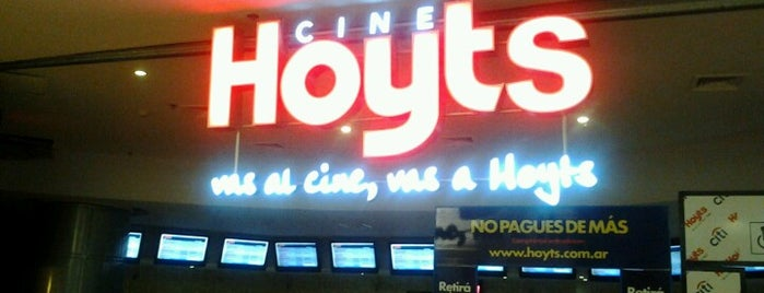 Hoyts is one of Cines a los que fuí.