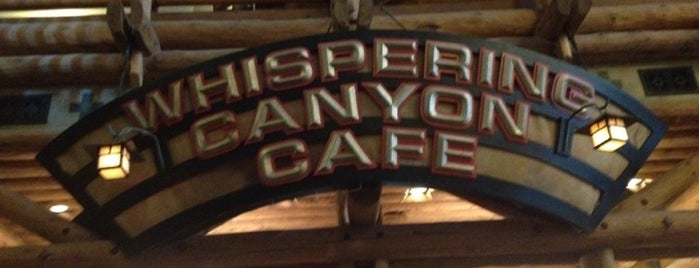 Whispering Canyon Café is one of Favorite Eateries at Walt Disney World.