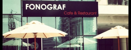 Fonograf Cafe & Restaurant is one of Dubai.