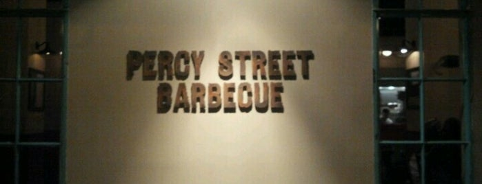 Percy Street Barbecue is one of Foobooz Best 50 Bars in Philadelphia 2012.