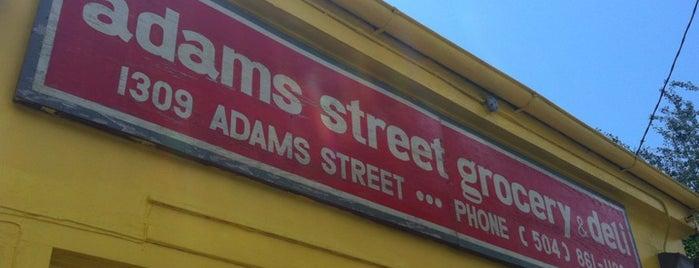 Adams Street Grocery is one of Tempat yang Disimpan Miriam.