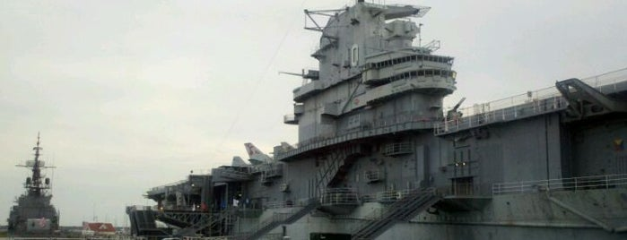 U.S.S. Yorktown is one of Bikabout Charleston.