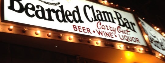 The Bearded Clam is one of Bars I frequent.