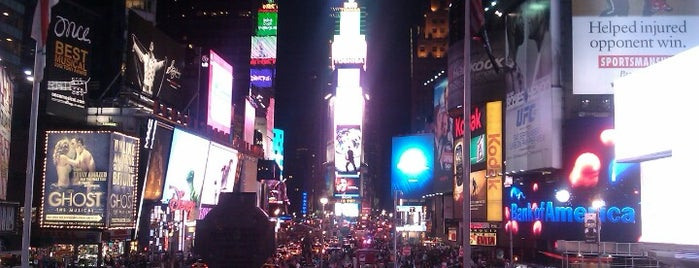 Times Square is one of New York City Tourists' Hits.