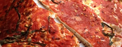 Rustique Pizza is one of Jersey City eats.
