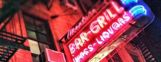 Montero Bar & Grill is one of BK.