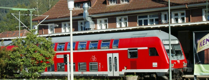 Bahnhof Titisee is one of Locais curtidos por Amit.