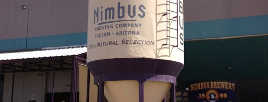 Nimbus Brewing Company is one of Tucson.