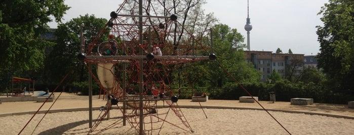 Spielplatz im Weinbergspark is one of Playgrounds in Berlin.