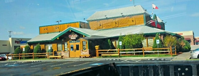 Texas Roadhouse is one of Locais salvos de Amy.