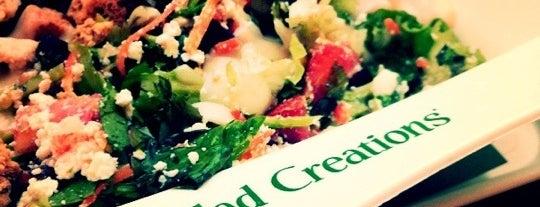 Salad Creations is one of Locais curtidos por Nayara.