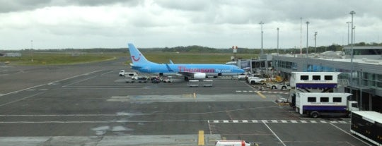 Newcastle International Airport is one of AIRPORT.