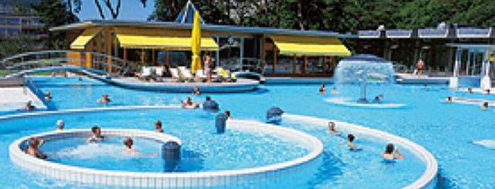 Les Bains de Lavey is one of Terme, Therme, Термы.
