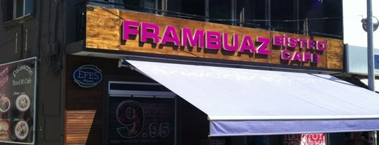 Frambuaz Bistro Cafe is one of Posti che sono piaciuti a Xxxxx.