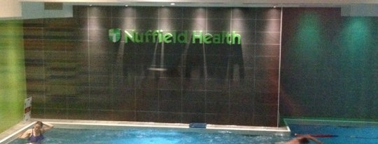 Nuffield Health Fitness & Wellbeing Gym is one of Get Fit in London.