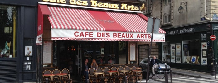 Café des Beaux Arts is one of Paris.