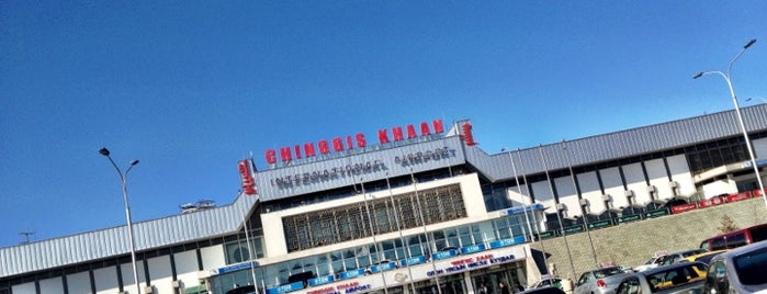 Chinggis Khaan International Airport (ULN) is one of Airports (around the world).