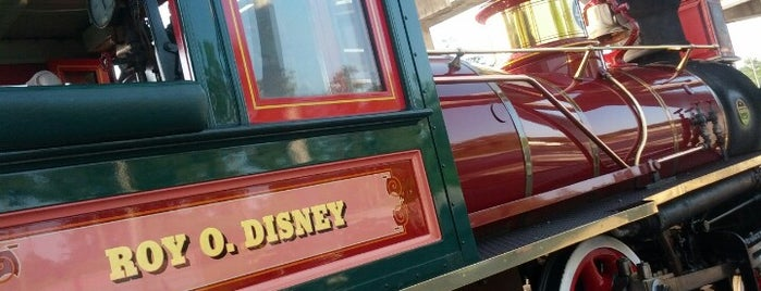 Roy O Disney Steam Train is one of Transportation & Misc Disney World Venues.