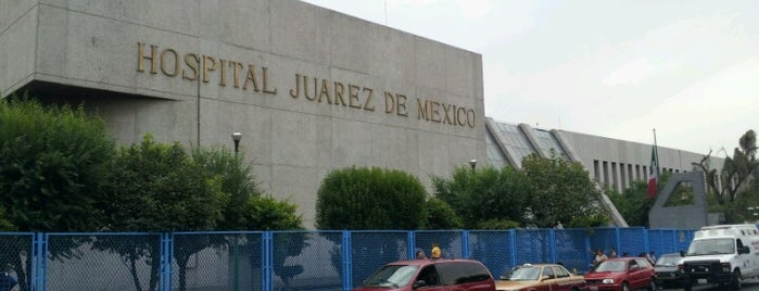 Hospital Juárez de México is one of Lugares guardados de JRA.