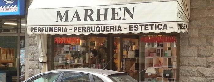 Perruqueria Marhen is one of Lugares favoritos de alejandro.