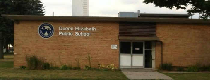Queen Elizabeth Public School is one of Attila's Liked Places.