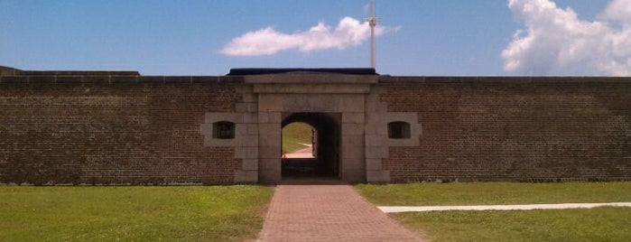 Fort Moultrie is one of Charleston.