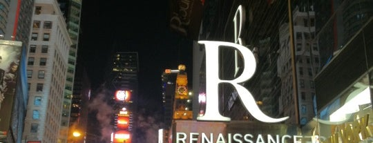 Renaissance New York Times Square Hotel is one of Tempat yang Disimpan PenSieve.