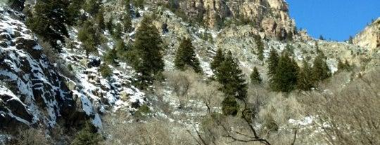 Glenwood Canyon is one of Locais salvos de Emily.