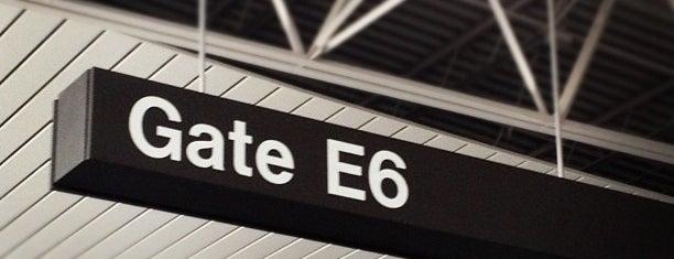 Gate E6 is one of Doug 님이 좋아한 장소.