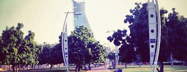 Al Corniche Walk is one of Jeddah.