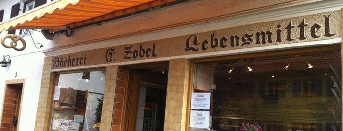 Bäckerei Zobel is one of Orte, die Alexander gefallen.